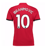 2017-2018 Man United Home Home Shirt (Ibrahimovic 10) - Kids