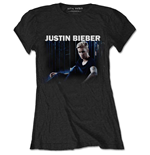 Justin Bieber Ladies Tee: Mirror