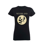 Disney Ladies T-Shirt Peter Pan Moon Silhouettes