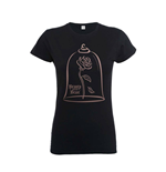 Disney Ladies T-Shirt Beauty and the Beast Rose Gold