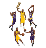 NBA Action Figures 18 cm Kobe Bryant Championship Assortment (10)
