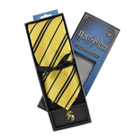 Harry Potter Tie & Metal Pin Deluxe Box Hufflepuff
