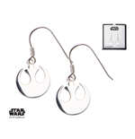 Star Wars Earrings Rebel Alliance Symbol Sterling Silver)