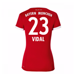 2017-18 Bayern Munich Home Womens Shirt (Vidal 23)
