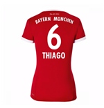 2017-18 Bayern Munich Home Womens Shirt (Thiago 6)