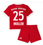 2017-18 Bayern Munich Home Mini Kit (Muller 25)