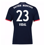 2017-18 Bayern Away Shirt (Vidal 23)