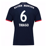 2017-18 Bayern Away Shirt (Thiago 6) - Kids