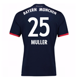 2017-18 Bayern Away Shirt (Muller 25)