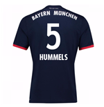 2017-18 Bayern Away Shirt (Hummels 5)