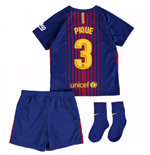 2017-18 Barcelona Home Baby Kit (Pique 3)