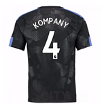 2017-18 Man City Third Shirt (Kompany 4) - Kids