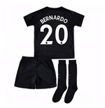 2017-18 Man City Third Mini Kit (Bernardo 20)