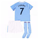2017-18 Man City Mini Kit (Sterling 7)