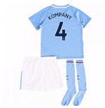 2017-18 Man City Mini Kit (Kompany 4)