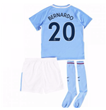 2017-18 Man City Mini Kit (Bernardo 20)