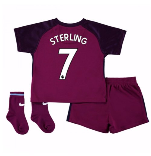 2017-18 Man City Away Baby Kit (Sterling 7)
