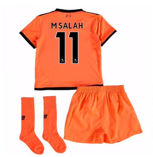 separation shoes da284 29ebb 2017-18 Liverpool Third Mini Kit (M Salah 11)