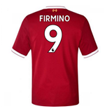 2017-18 Liverpool Home Short Sleeve Shirt (Firmino 9)