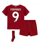 2017-18 Liverpool Home Mini Kit (Firmino 9)
