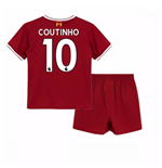 2017-18 Liverpool Home Baby Kit (Coutinho 10)