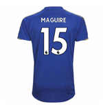 2017-18 Leicester City Home Shirt (Maguire 15) - Kids