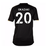2017-18 Leicester City Away Shirt (Okazaki 20)