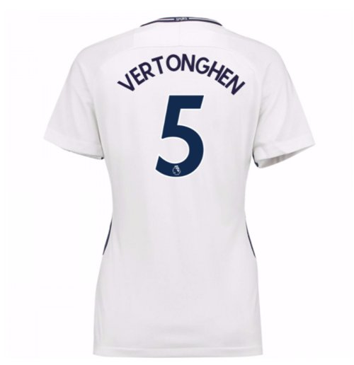 2017-18 Tottenham Womens Home Shirt (Vertonghen 5)