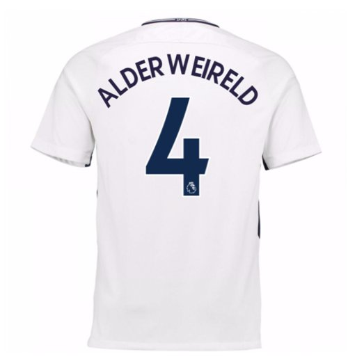 2017-18 Tottenham Home Shirt (Alderweireld 4) - Kids