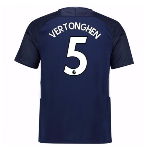2017-18 Tottenham Away Shirt (Vertonghen 5) - Kids