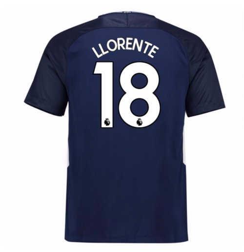 2017-18 Tottenham Away Shirt (Llorente 18) - Kids
