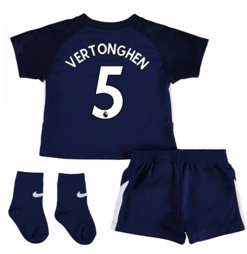 2017-18 Tottenham Away Baby Kit (Vertonghen 5)