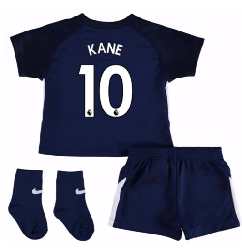 2017-18 Tottenham Away Baby Kit (Kane 10)