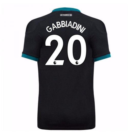 2017-18 Southampton Away Shirt (Gabbiadini 20)