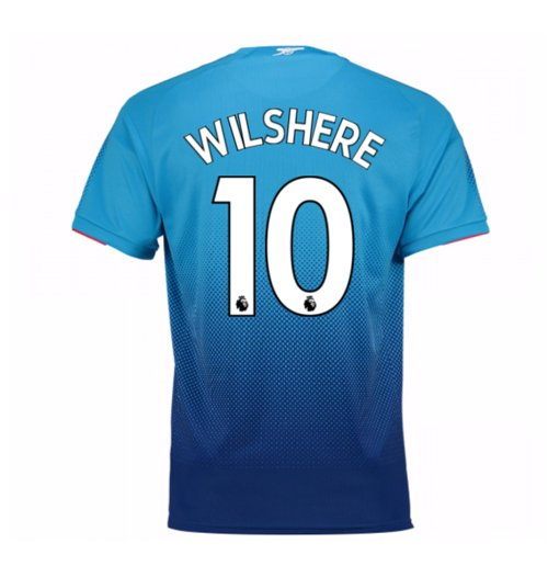2017-2018 Arsenal Away Shirt (Wilshere 10)
