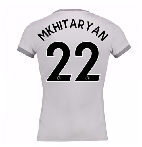 2017-2018 Man United Womens Third Shirt (Mkhitaryan 22)