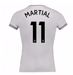 2017-2018 Man United Womens Third Shirt (Martial 11)