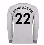 2017-2018 Man United Long Sleeve Third Shirt (Mkhitaryan 22)