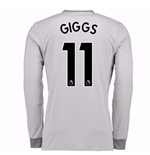 2017-2018 Man United Long Sleeve Third Shirt (Giggs 11)