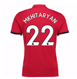 2017-2018 Man United Home Shirt (Mkhitaryan 22)