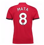 2017-2018 Man United Home Shirt (Mata 8) - Kids