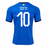 2018-19 Italy Home Shirt (Totti 10) - Kids