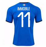 2018-19 Italy Home Shirt (Immobile 11)