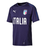 2018-2019 Italy Puma Training Jersey (Peacot)