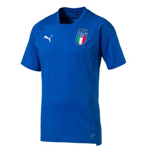 2018-2019 Italy Puma Casual Performance Shirt (Blue)