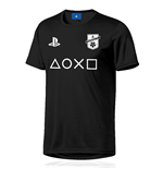 PlayStation eSport Gear Functional T-Shirt PlayStation F.C. Black