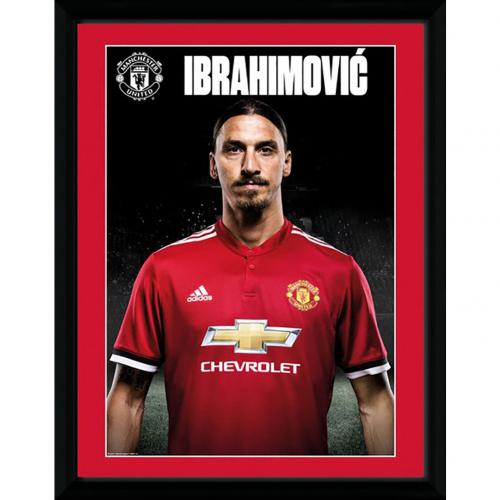 Manchester United F.C. Picture Ibrahimovic Profile 16 x 12