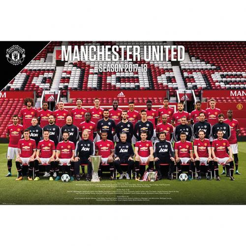 Manchester United F.C. Poster Squad 52