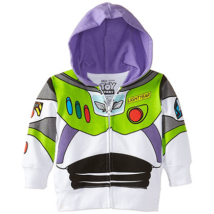 TOY STORY Buzz Lightyear Toddler Costume Sweatshirt Hoodie