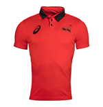 2017-2018 South Africa Springboks Fan Polo Shirt (Fiery Red)
